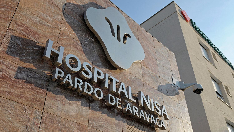 Fachada Hospital Nisa Aravaca